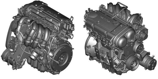 Двигатель Volvo 1.6 (B 4164 S3)