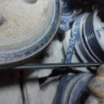 Замена ремня и ролика натяжителя ГУР Volvo XC60
