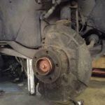 Замена тормозных дисков и колодок Volvo