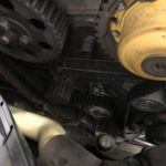 Замена ГРМ и опорных чашек амортизаторов Volvo S60