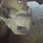 Замена тормозных колодок Volvo S40