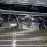 Промывка пакета радиаторов Volvo XC70
