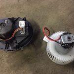 Замена моторчика печки Volvo S60