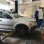 Замена ГРМ и помпы Volvo XC90