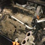 Мойка радиаторов и чистка вентиляции картерных газов Volvo XC90