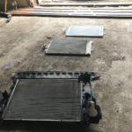 Мойка радиатора и замена радиатора кондиционера Volvo XC70