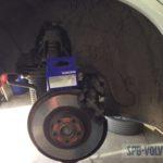 Замена тормозных колодок Volvo XC90 II SPA