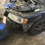 Замена лампочек габаритов Volvo S60
