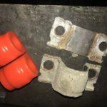 Замена втулок стабилизатора на полиуретановые Volvo XC70