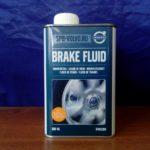 Тормозная жидкость DOT4 Volvo