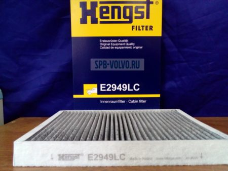 Фильтр салона угольный Hengst E2949LC Volvo