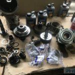 Ремонт заднего редуктора и муфты Haldex Volvo XC60
