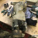 Ремонт заднего редуктора и муфты Haldex Volvo XC70