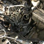Замена вихревой заслонки и чистка EGR Volvo XC90
