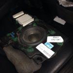 Установка сабвуфера Volvo XC90