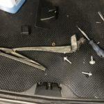 Ремонт механизма дворника крышки багажника