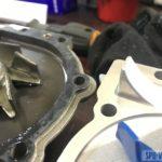 Замена помпы на Volvo с дизельным двигателем