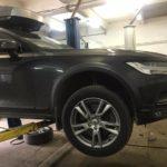 Замена тормозных колодок Volvo V90