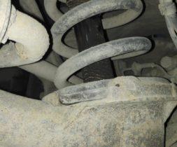 Износ заднего амортизатора Volvo XC90